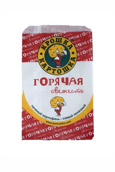 Крафт Пакеты с логотипом горячая свежесть купить Екатеринбург