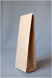 Пакеты бумажные с прямоугольным дном без ручек крафт упаковка екатеринбург