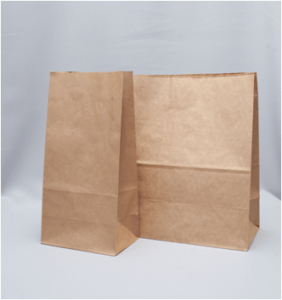 Пакеты бумажные с прямоугольным дном без ручек крафт упаковка екатеринбург два пакета
